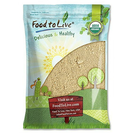 Organic Red Maca Powder, 8 Pounds - Raw Ground Maca Root, Non-GMO, Fine Flour, Bulk - by Food to Live