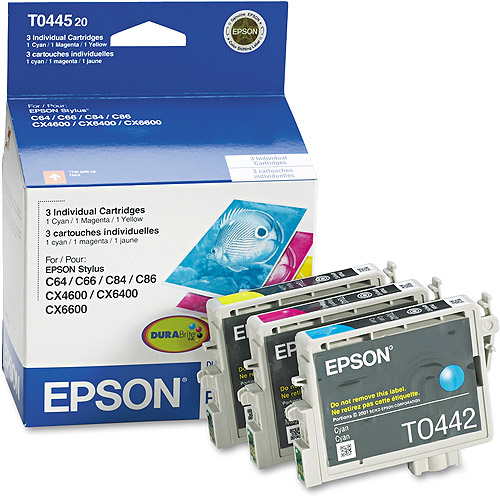Epson T044520  Multi-Pack Ink Cartridges