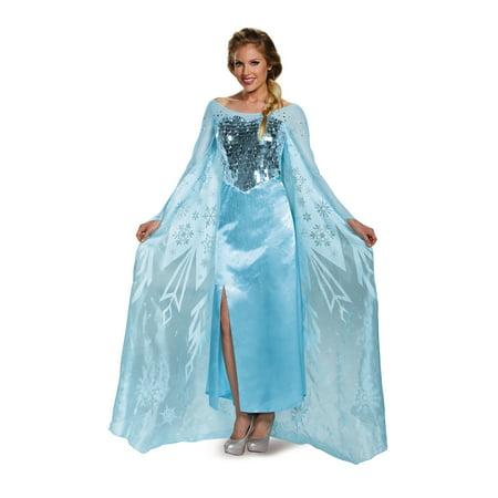 Frozen Elsa Ultra Prestige Women's Adult Halloween Costume