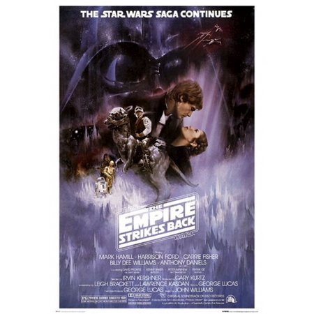 The Empire Strikes Back Star Wars Poster Poster (Empire Strikes Back Movie Poster)