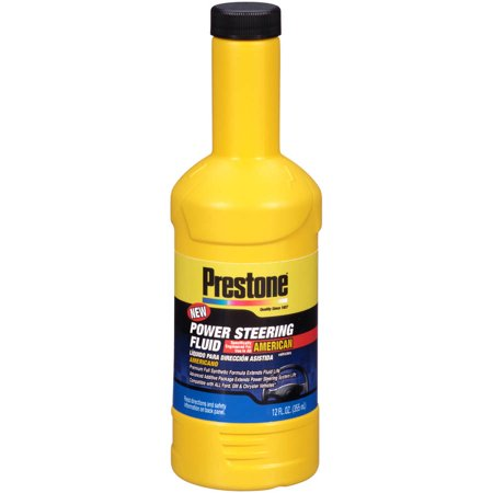 Prestone Synthetic Power Steering Fluid Formulated for American Vehicles