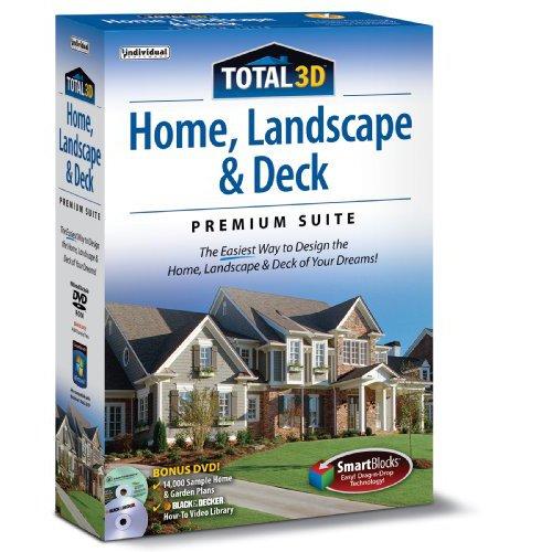 Total 3D: Home, Landscape & Deck Premium Suite 12, Individual Software, 018527109199