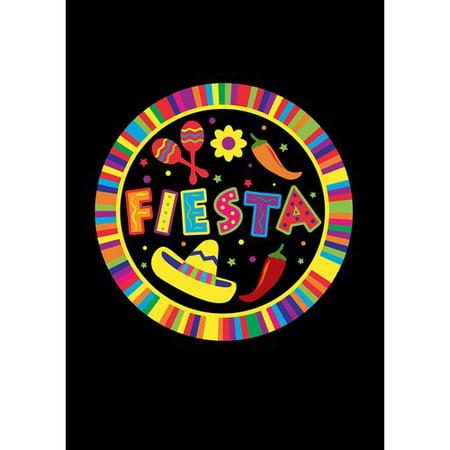 Toland Home Garden Fiesta Pin 28 x 40 inch House Flag](Six Flags Fiesta Texas Halloween)