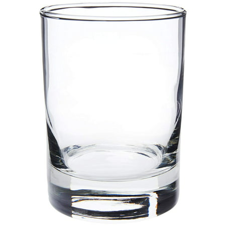 1660S4 True Fabrication MDF Journal 1 EA Clear, Four 10.5-ounce double old fashioned glasses in clear, features a heavy sham to prevent drinks from tipping.., By Libbey