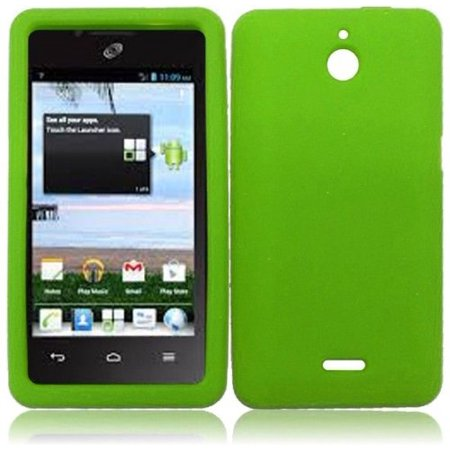 Silicone Skin Case for Huawei Ascend Plus H881C - Green](phone cases for huawei h881c)