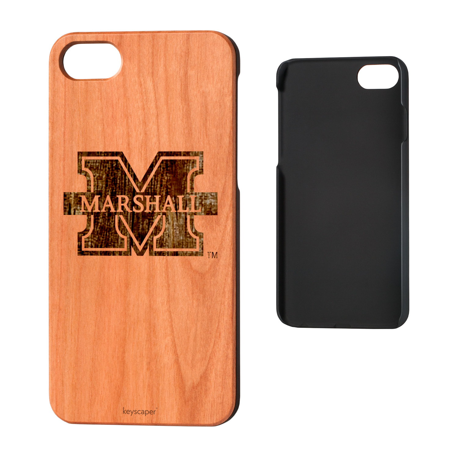Marshall University Cherry Wood iPhone 7 / iPhone 8 Case NCAA