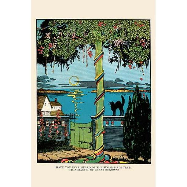 "Sugar Plum Tree-Fine Art Canvas Print (20"" X 30"