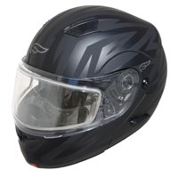 Adult Fulmer Full Face Modular Flip-Up Snowmobile Helmet w/ Dual Pane Shield
