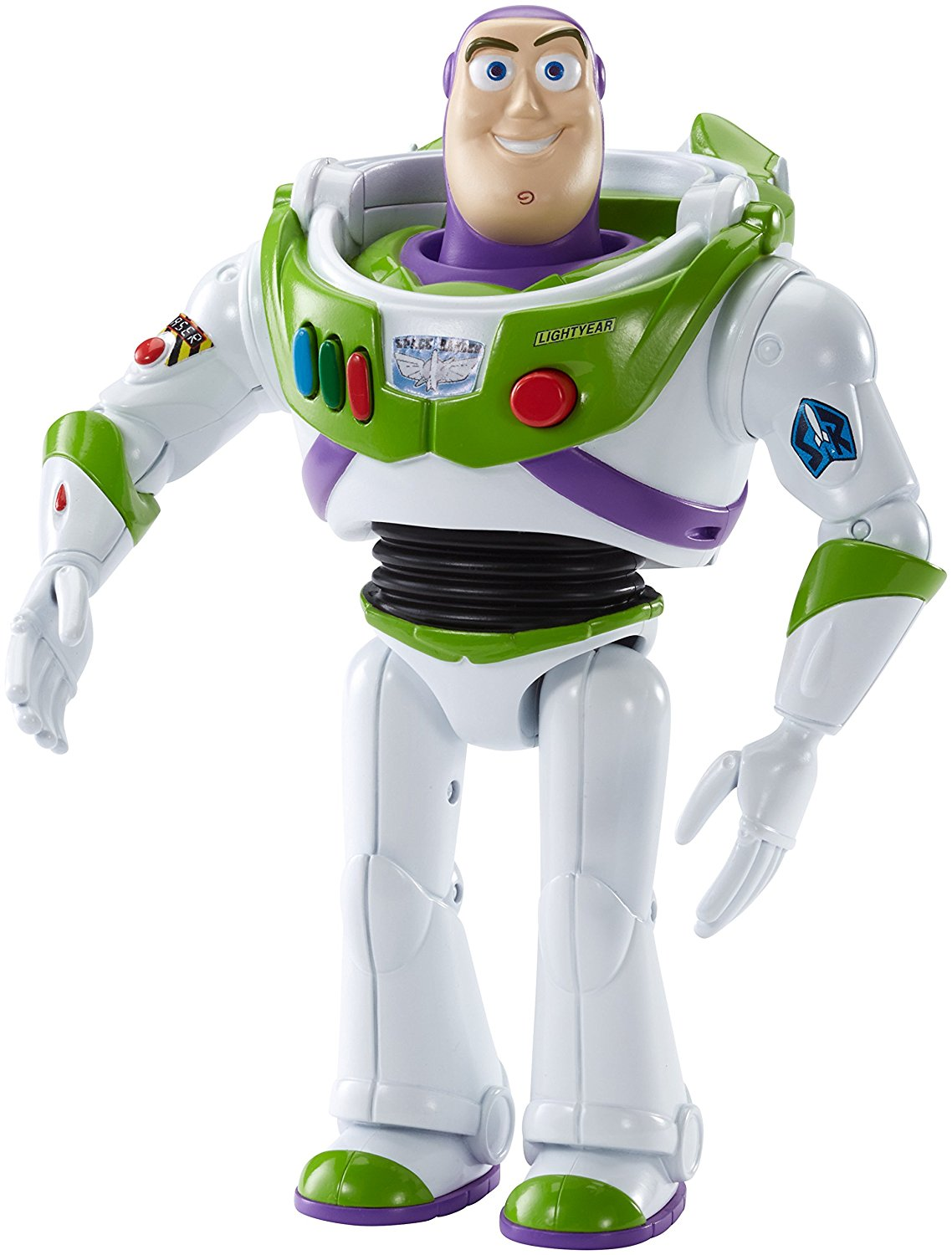 Disney Pixar Toy Story Talking Buzz Figure, Rex Thinkway Exclusive String 2Pack Sounds... by