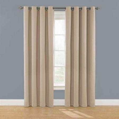 Eclipse Nadya Solid Room Darkening Window Curtain Panel