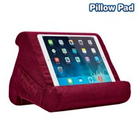 Pillow Pad Multi Angle Cushioned Tablet and iPad Stand, Choose Your Color, As Seen on TV