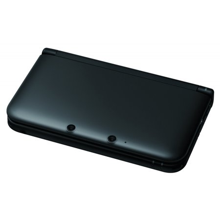 Refurbished Nintendo 3DS XL  Black Video Game Console with Stylus SD Card and (3ds R4 Card With Preloaded Games Uk)