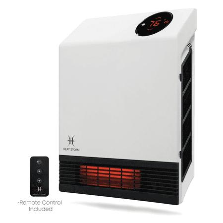 Heatstorm Deluxe Infrared Quartz Wall Heater, 1000 W,