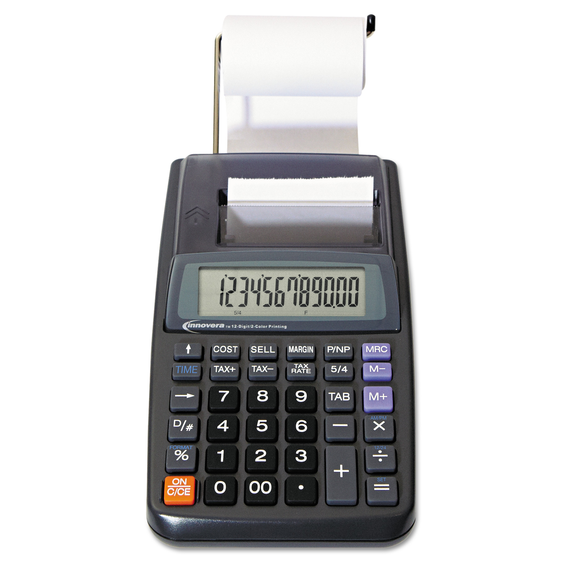 Innovera 16010 One-Color Printing Calculator, Black Print, 1.6 Lines/Sec