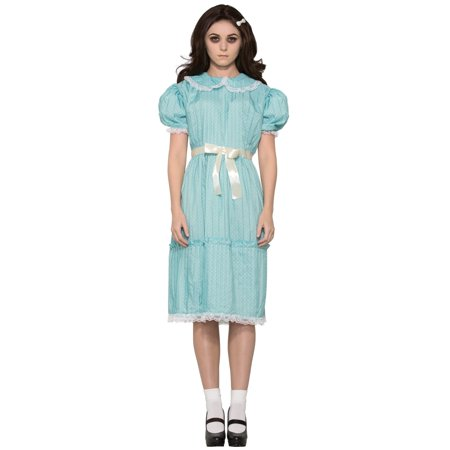 Creepy Sister Grady Twins Dress Costume - Adult Standard - Twin Halloween Costumes Adults