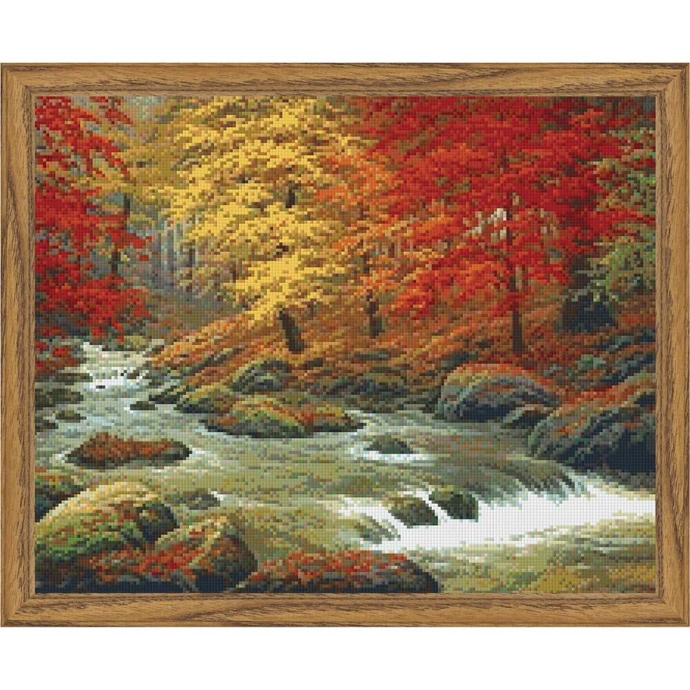 PixelHobby Autumn in Boulder Creek Mosaic Art Kit