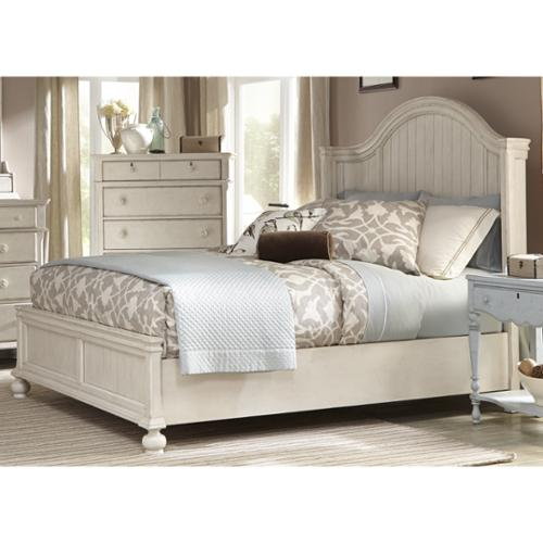 Greyson Living Laguna Antique White Panel Bed Laguna Queen Panel Bed