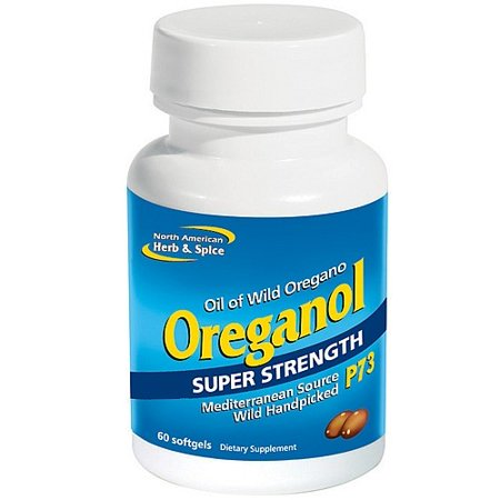 Super Strength Oreganol P73 North American Herb & Spice 60 Caps