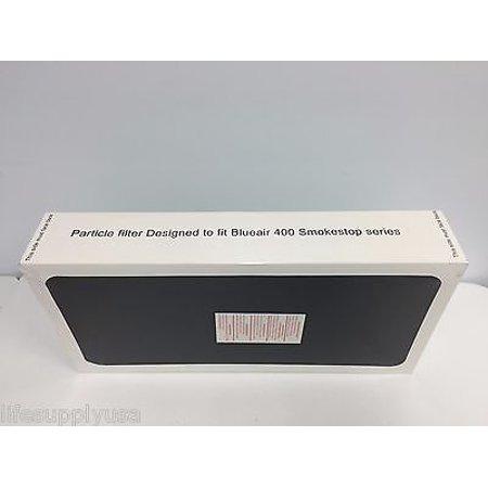 2 Pack Replacement SmokeStop Filter Fits ALL Blueair 400 Series Air Purifier (Smokestop Replacement)