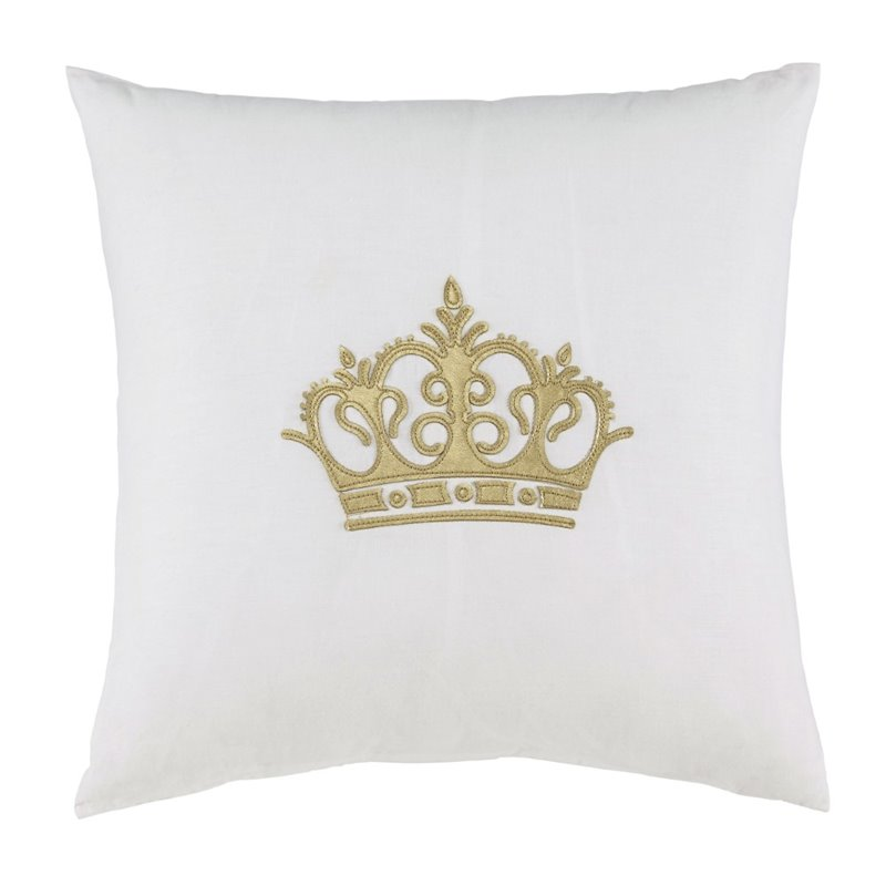 Ashley Willowcourt Throw Pillow in White (Set of 4) by Ashley Furniture