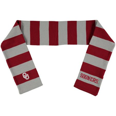 - Oklahoma Sooners Official NCAA Adult One Size Striped Rugby Scarf by Forever Collectibles