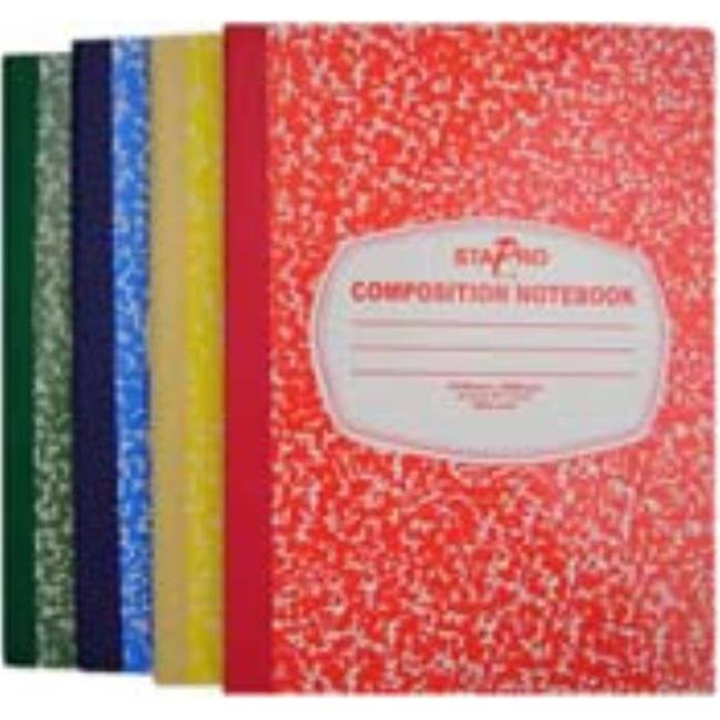 DDI 701079 Composition Notebook Wide Ruled Case of 96