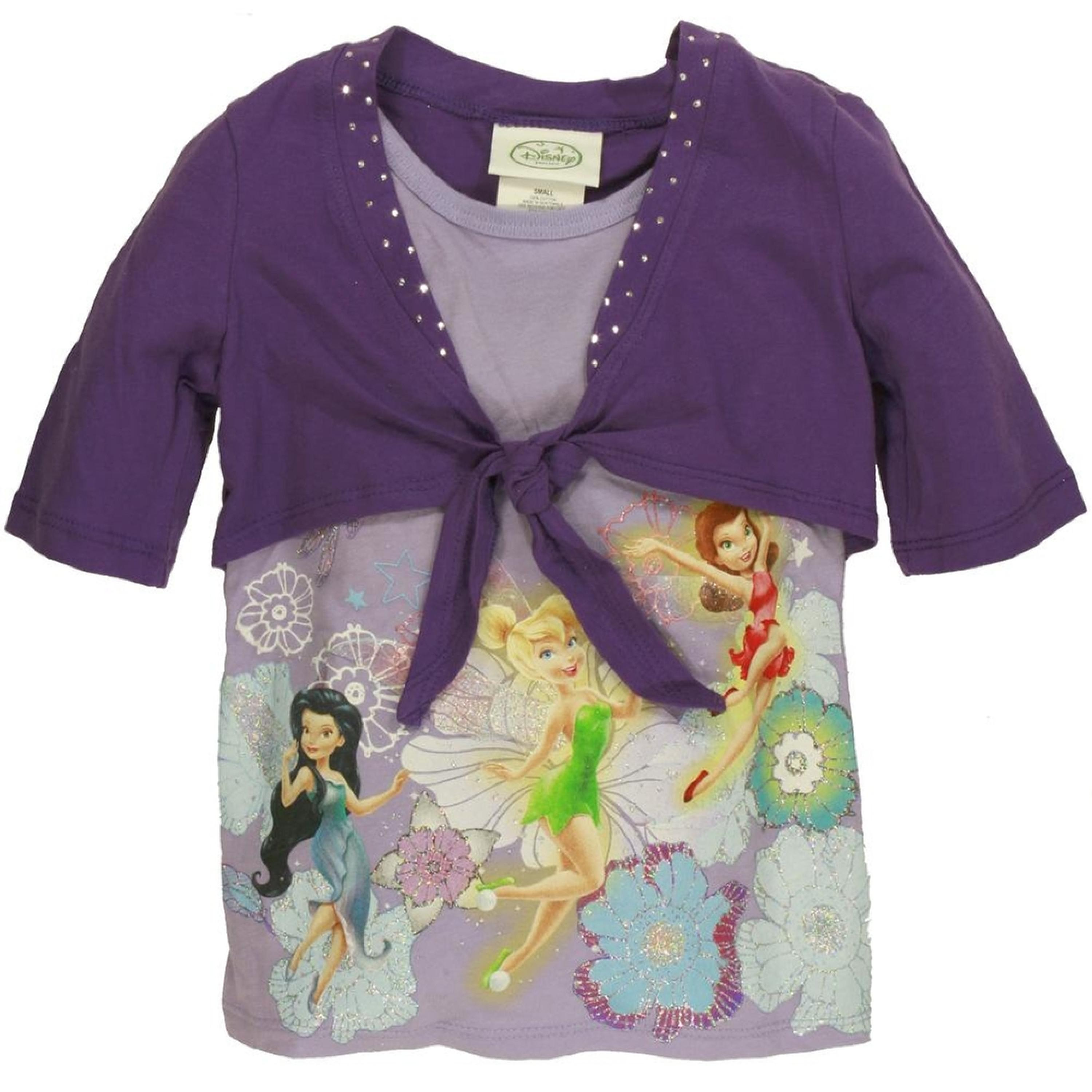 Disney Fairies - Fairy Fun Girls Juvy Shrug 2Fer