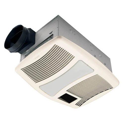 broan-nutone qtxn110hl ultra silent bathroom heat / fan / light