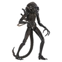 "Alien-7"" Scale Action Figures - Ultimate Warrior - (1986) Brown Alien"