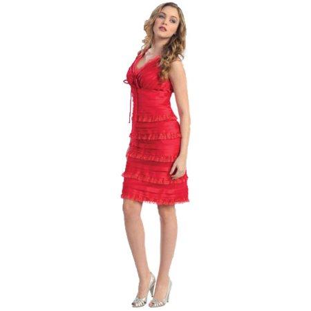 Formal Dress Shops Inc Knee Length Homecoming Designer Dress Walmart Com