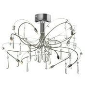 Radionic Hi Tech Firefly 10-Light Semi Flush Mount