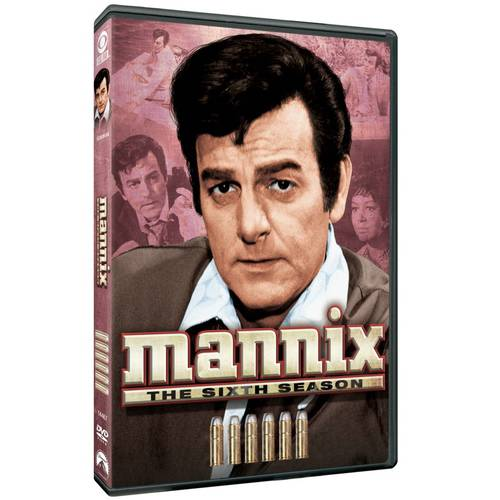 Mannix: The Sixth Season (Full Frame)