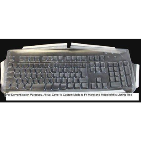 Keyboard Cover for Microsoft Wired 600 Keyboard,Keeps Out Dirt Dust Liquids and Contaminants - Keyboard not Included - Part#235G108 - Global Pull Out Keyboard