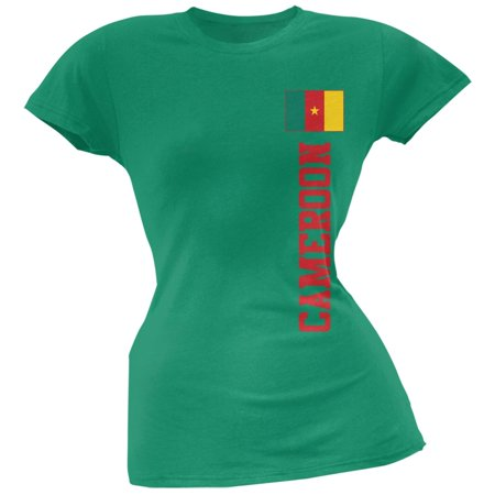 - World Cup Cameroon Green Soft Juniors T-Shirt