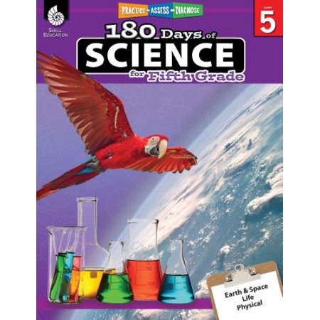 180 Days of Science for Fifth Grade (Grade 5) : Practice, Assess, Diagnose](Classroom Halloween Party Games 5th Grade)