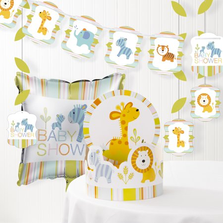 Happi Jungle Baby Shower Decorations Kit (Baby Shower Decorations Owls)