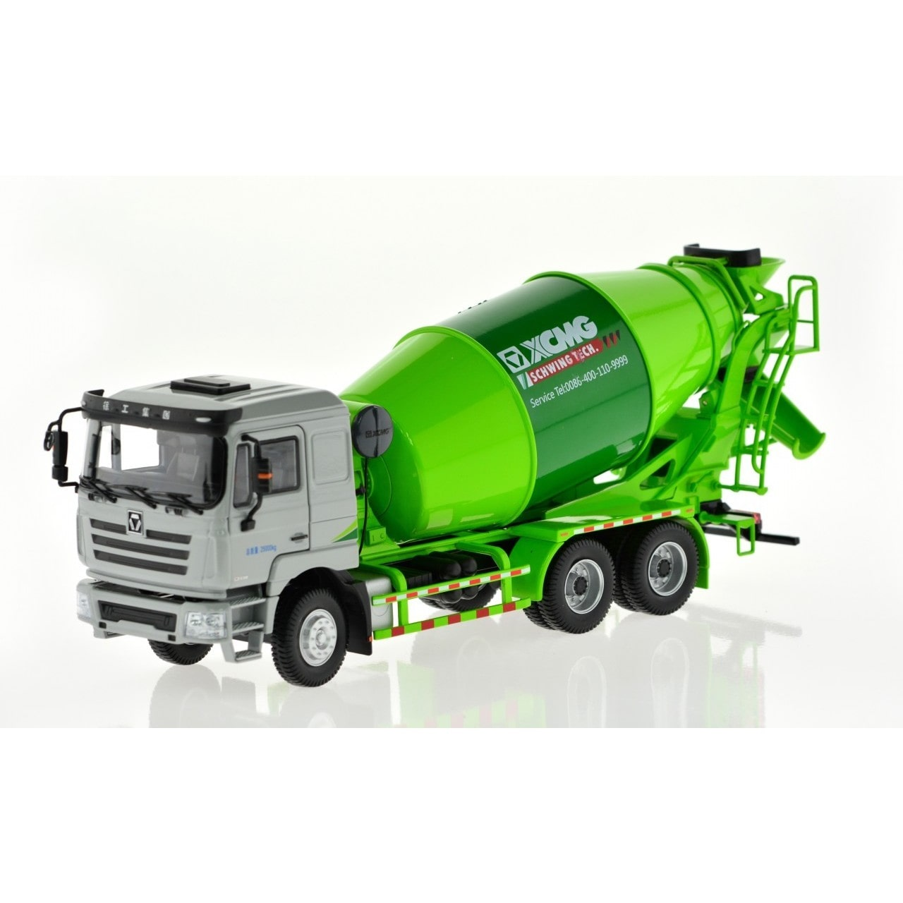 CIS Schwing Green Small Concrete Mixer Truck by Overstock