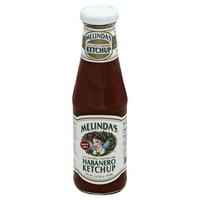 Melinda's Bold & Spicy Habanero Ketchup, 14.28 oz