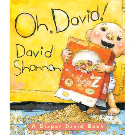 David New Book - Oh David (Board Book)