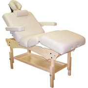 Solutions Aura Deluxe Massage Table-Color:Burgundy