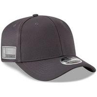 Orlando Magic New Era Authentics Training 9FIFTY Adjustable Snapback Hat - Graphite - OSFA