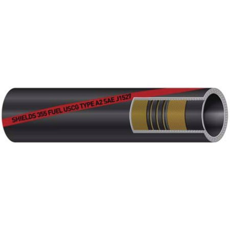 Shields Marine Type A2 Series 355 Fuel Fill Hose, 1.5