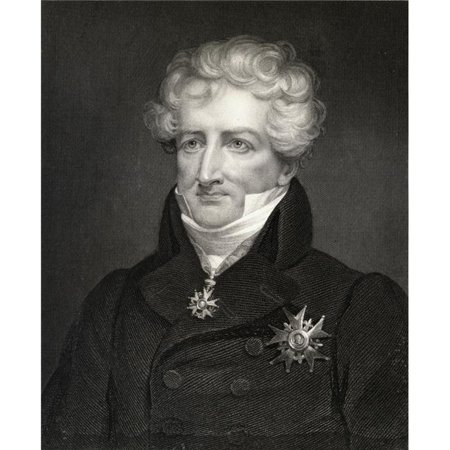 Posterazzi DPI1858581LARGE Baron Georges Cuvier Georges Leopold Chretien Frederic Dagobert 1769-1832 French Zoologist & Statesman From The Book Poster Print, Large - 26 x 32 - image 1 of 1
