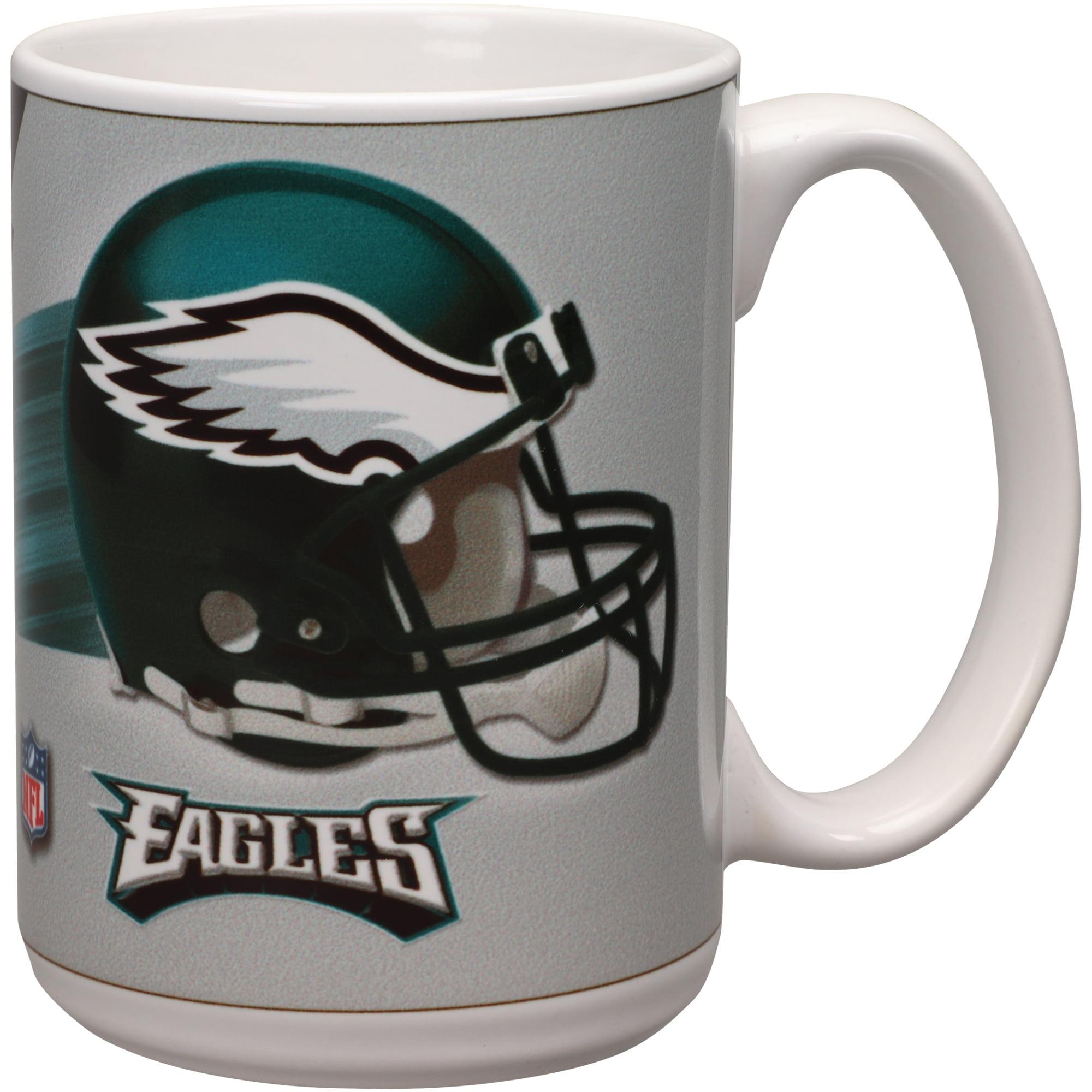 Philadelphia Eagles 15oz. Team 3D Graphic Mug - No Size