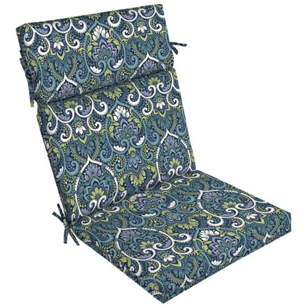 Arden Selections Sapphire Aurora Damask 44 x 21 in. Outdoor Dining Chair Cushion ()