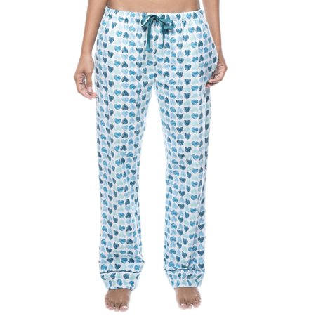 Twin Boat Womens 100% Cotton Flannel Lounge Pants with Pockets