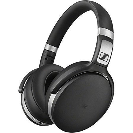 Sennheiser HD 4.50 Bluetooth Wireless Headphones with Active Noise Cancellation, Black and Silver(HD 4.50 BTNC) - Hd 25 Professional Closed Headphone