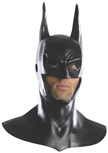 One Size Black Rubies Official Adults Batman Mask