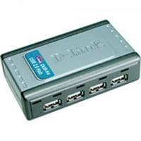 D-LINK - 4-Port USB 2.0 Hub