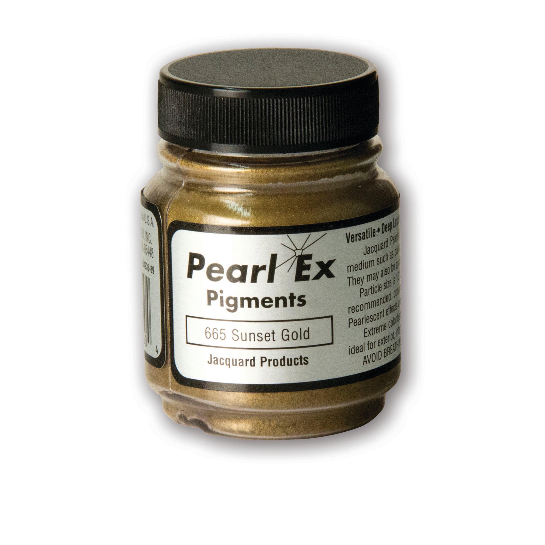 Jacquard Pearl Ex Pigment, 3/4 oz., Sunset Gold